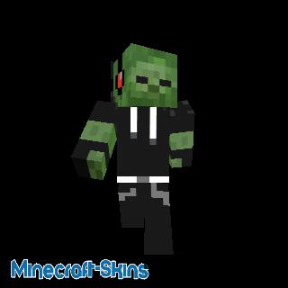 Zombie pull noir