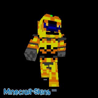 Spartan jaune - HALO
