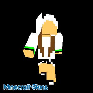 Fille déguisement panda sans visage