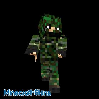 Soldat camouflé