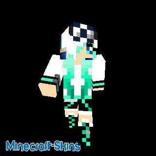 Fille panda turquoise