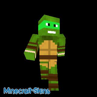 Tortue ninja vert