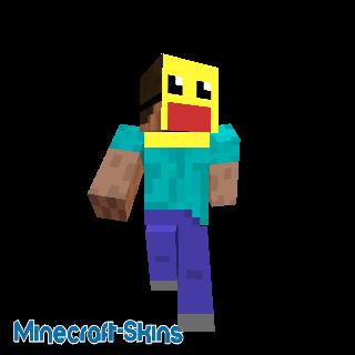 Steve avec un masque