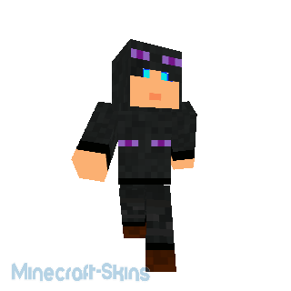 Chasseuse d'enderman