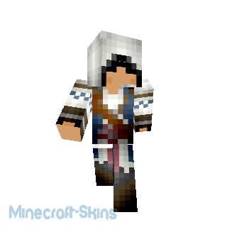 SkyDoesMinecraft AssaSin Creeds Back Flag