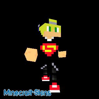 jeune avec un t-shirt superman