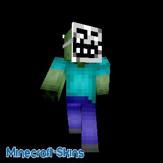 Zombie avec Masque de Troll