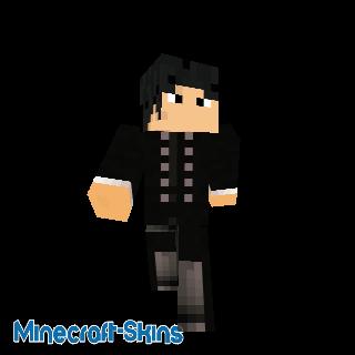 Un joueur de Minecraft