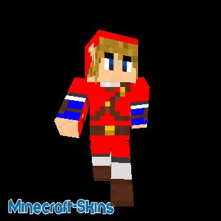 Link (tenue rouge) - Zelda