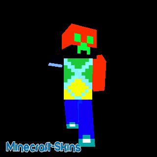 mon 1er skin minecraft