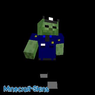 Policier Zombie