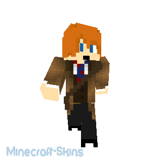 Minecraft Doctor Who-Le Valeyard Docor
